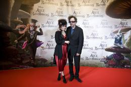 photo 496/527 - Helena Bonham Carter et Tim Burton - Avant-premi�re � Paris (15 mars 2010) - Alice au pays des Merveilles - © Walt Disney Studios Motion Pictures France