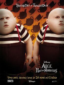 photo 92/527 - Affiche teaser fran�aise - Alice au pays des Merveilles - © Walt Disney Studios Motion Pictures France