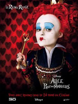 photo 98/527 - Affiche teaser fran�aise - Alice au pays des Merveilles - © Walt Disney Studios Motion Pictures France