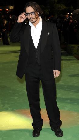 photo 194/527 - Johnny Depp - Avant-premi�re royale � Londres (25 f�vrier 2010) - Alice au pays des Merveilles - © Walt Disney Studios Motion Pictures France