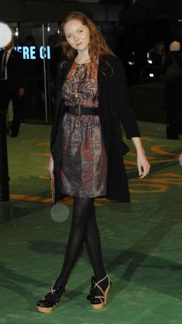 Lily Cole Avant-premi�re royale � Londres (25 f�vrier 2010) photo 3 sur 27