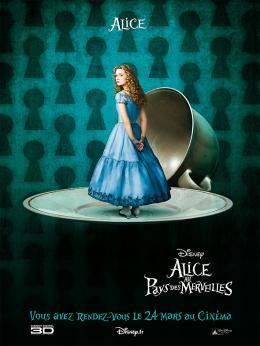 photo 101/527 - Affiche teaser fran�aise - Alice au pays des Merveilles - © Walt Disney Studios Motion Pictures France