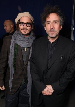 photo 434/527 - Johnny Depp et Tim Burton - Ultimate Fan Event (25 fevrier 2010) - Alice au pays des Merveilles - © Walt Disney Studios Motion Pictures France