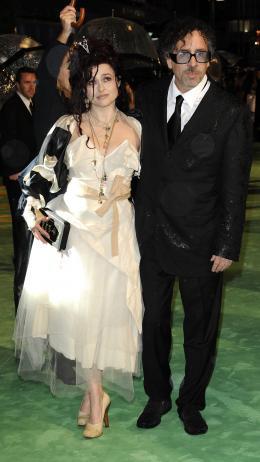 photo 304/527 - Helena Bonham Carter et Tim Burton - Avant-premi�re royale � Londres (25 f�vrier 2010) - Alice au pays des Merveilles - © Walt Disney Studios Motion Pictures France