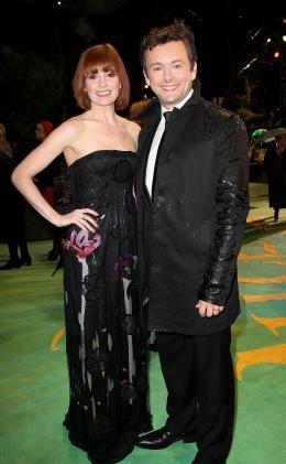photo 372/527 - Michael Sheen et sa compagne - Avant-premi�re royale � Londres (25 f�vrier 2010) - Alice au pays des Merveilles - © Walt Disney Studios Motion Pictures France