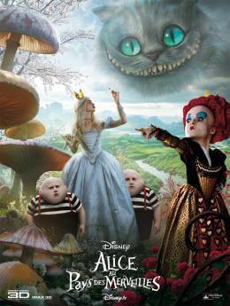 photo 96/527 - Affiche fran�aise - Alice au pays des Merveilles - © Walt Disney Studios Motion Pictures France