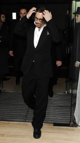 photo 369/527 - Johnny Depp - Avant-premi�re royale � Londres (25 f�vrier 2010) - Alice au pays des Merveilles - © Walt Disney Studios Motion Pictures France