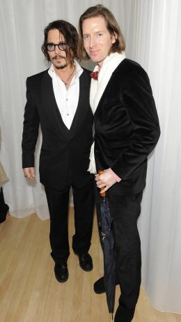 photo 205/527 - Johnny Depp et Wes Anderson - Avant-premi�re royale � Londres (25 f�vrier 2010) - Alice au pays des Merveilles - © Walt Disney Studios Motion Pictures France
