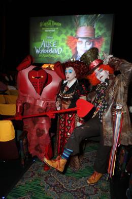 photo 422/527 - Ultimate Fan Event (25 fevrier 2010) - Alice au pays des Merveilles - © Walt Disney Studios Motion Pictures France