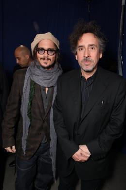 photo 450/527 - Johnny Depp et Tim Burton - Ultimate Fan Event (25 fevrier 2010) - Alice au pays des Merveilles - © Walt Disney Studios Motion Pictures France
