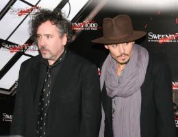 photo 69/82 - Tim Burton et Johnny Depp - Avant-première de Sweeney Todd à Paris, janvier 2008 - Sweeney Todd, le diabolique barbier de Fleet Street - © Isabelle Vautier pour Commeaucinema.com 2008