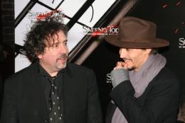 photo 73/82 - Tim Burton et Johnny Depp - Avant-première de Sweeney Todd à Paris, janvier 2008 - Sweeney Todd, le diabolique barbier de Fleet Street - © Isabelle Vautier pour Commeaucinema.com 2008