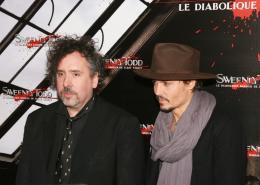 photo 68/82 - Tim Burton et Johnny Depp - Avant-première de Sweeney Todd à Paris, janvier 2008 - Sweeney Todd, le diabolique barbier de Fleet Street - © Isabelle Vautier pour Commeaucinema.com 2008