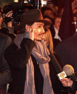 photo 62/82 - Johnny Depp - Avant-première de Sweeney Todd à Paris, janvier 2008 - Sweeney Todd, le diabolique barbier de Fleet Street - © Isabelle Vautier pour Commeaucinema.com 2008