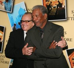 photo 58/71 - Jack Nicholson et Morgan Freeman - Avant première parisienne de Sans Plus Attendre - Janvier 2008 - Sans Plus Attendre - © Isabelle Vautier pour Commeaucinema.com 2008