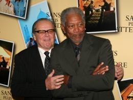photo 57/71 - Jack Nicholson et Morgan Freeman - Avant première parisienne de Sans Plus Attendre - Janvier 2008 - Sans Plus Attendre - © Isabelle Vautier pour Commeaucinema.com 2008