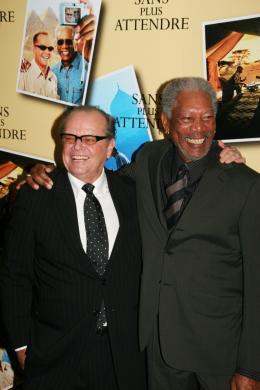 photo 49/71 - Jack Nicholson et Morgan Freeman - Avant première parisienne de Sans Plus Attendre - Janvier 2008 - Sans Plus Attendre - © Isabelle Vautier pour Commeaucinema.com 2008