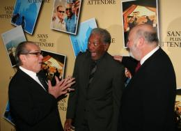 Rob Reiner Jack Nicholson, Morgan Freeman et Rob Reiner - Avant première parisienne de Sans Plus Attendre - Janvier 2008 photo 4 sur 9
