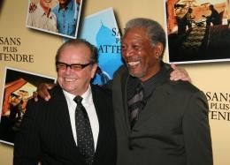 photo 48/71 - Jack Nicholson et Morgan Freeman - Avant première parisienne de Sans Plus Attendre - Janvier 2008 - Sans Plus Attendre - © Isabelle Vautier pour Commeaucinema.com 2008