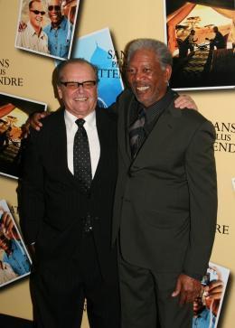 photo 42/71 - Jack Nicholson et Morgan Freeman - Avant première parisienne de Sans Plus Attendre - Janvier 2008 - Sans Plus Attendre - © Isabelle Vautier pour Commeaucinema.com 2008