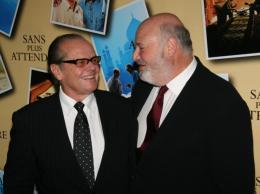 Rob Reiner Jack Nicholson et Rob Reiner - Avant premi�re parisienne de Sans Plus Attendre - Janvier 2008 photo 2 sur 8