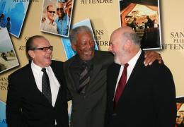 Rob Reiner Jack Nicholson, Morgan Freeman et Rob Reiner - Avant premi�re parisienne de Sans Plus Attendre - Janvier 2008 photo 7 sur 9