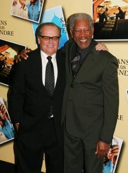 photo 45/71 - Jack Nicholson et Morgan Freeman - Avant première parisienne de Sans Plus Attendre - Janvier 2008 - Sans Plus Attendre - © Isabelle Vautier pour Commeaucinema.com 2008