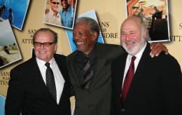 Rob Reiner Jack Nicholson, Morgan Freeman et Rob Reiner - Avant premi�re parisienne de Sans Plus Attendre - Janvier 2008 photo 9 sur 9