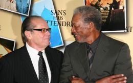 photo 56/71 - Jack Nicholson et Morgan Freeman - Avant première parisienne de Sans Plus Attendre - Janvier 2008 - Sans Plus Attendre - © Isabelle Vautier pour Commeaucinema.com 2008