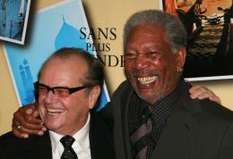 photo 46/71 - Jack Nicholson et Morgan Freeman - Avant première parisienne de Sans Plus Attendre - Janvier 2008 - Sans Plus Attendre - © Isabelle Vautier pour Commeaucinema.com 2008