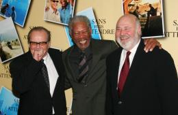 Rob Reiner Jack Nicholson, Morgan Freeman et Rob Reiner - Avant premi�re parisienne de Sans Plus Attendre - Janvier 2008 photo 8 sur 9