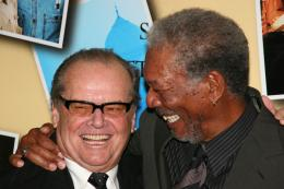 photo 47/71 - Jack Nicholson et Morgan Freeman - Avant première parisienne de Sans Plus Attendre - Janvier 2008 - Sans Plus Attendre - © Isabelle Vautier pour Commeaucinema.com 2008