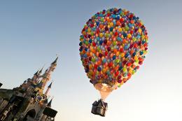 photo 365/409 - Ev�nement au Parc Disneyland Paris - L�-Haut - © Walt Disney Studios Motion Pictures France
