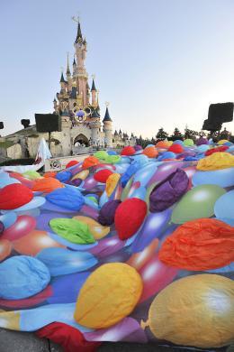 photo 359/409 - Ev�nement au Parc Disneyland Paris - L�-Haut - © Walt Disney Studios Motion Pictures France