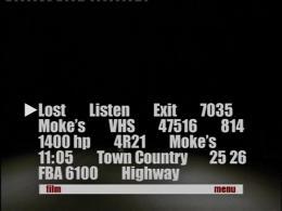 photo 16/16 - Menu Dvd - Lost Highway - © Mk2