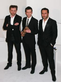 Les Chansons d'Amour Jean-Paul Rouve, Alex Beaupain et Gilles Lellouche - Cérémonie des César 2008 photo 3 sur 24