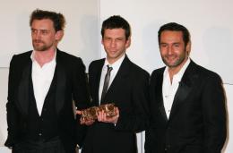 Les Chansons d'Amour Jean-Paul Rouve, Alex Beaupain et Gilles Lellouche - Cérémonie des César 2008 photo 2 sur 24
