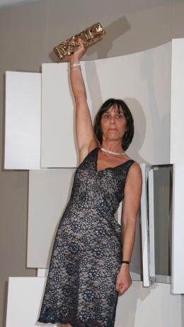 Le scaphandre et le papillon Juliette Welfling - Cérémonie des César 2008 photo 1 sur 15