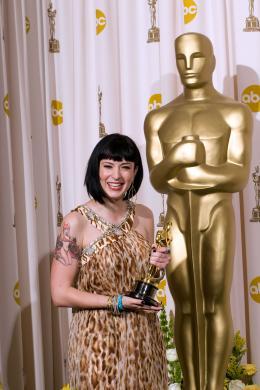 Juno Diablo Cody - Cérémonie des Oscars 2008, Photocall des lauréats photo 4 sur 20