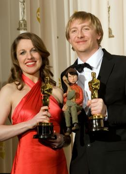 Hugh Welchman 80ème Cérémonie des Oscars 2008 photo 1 sur 2