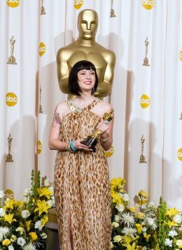 Juno Diablo Cody - Cérémonie des Oscars 2008, Photocall des lauréats photo 3 sur 20