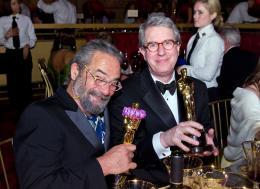 David Parker (l) 80ème Cérémonie des Oscars 2008 photo 1 sur 3