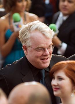La Guerre Selon Charlie Wilson Philip Seymour Hoffman - Cérémonie des Oscars 2008, Tapis Rouge photo 1 sur 37