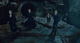 photo 7/132 - Emma Watson, Rupert Grint, Warwick Davis, Daniel Radcliffe - Harry Potter et Les Reliques de la Mort - 2ème Partie - © Warner Bros