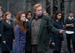 photo 47/132 - Bonnie Wright, Mark Williams - Harry Potter et Les Reliques de la Mort - 2�me Partie - © Warner Bros