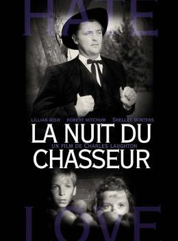 photo 10/12 - Affiche cinéma pour la reprise en salles - La Nuit du chasseur