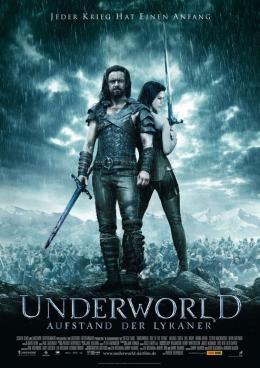 photo 38/38 - Affiche Allemande - Underworld 3 : Le soulèvement des Lycans - © SND