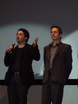 Tony Manero pablo Larrain et Alfredo Castro, Cannes 2008 photo 8 sur 8