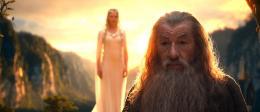photo 83/221 - Ian McKellen, Cate Blanchett - Le Hobbit : un voyage inattendu - © Warner Bros