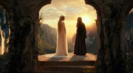 photo 32/221 - Ian McKellen, Cate Blanchett - Le Hobbit : un voyage inattendu - © Warner Bros